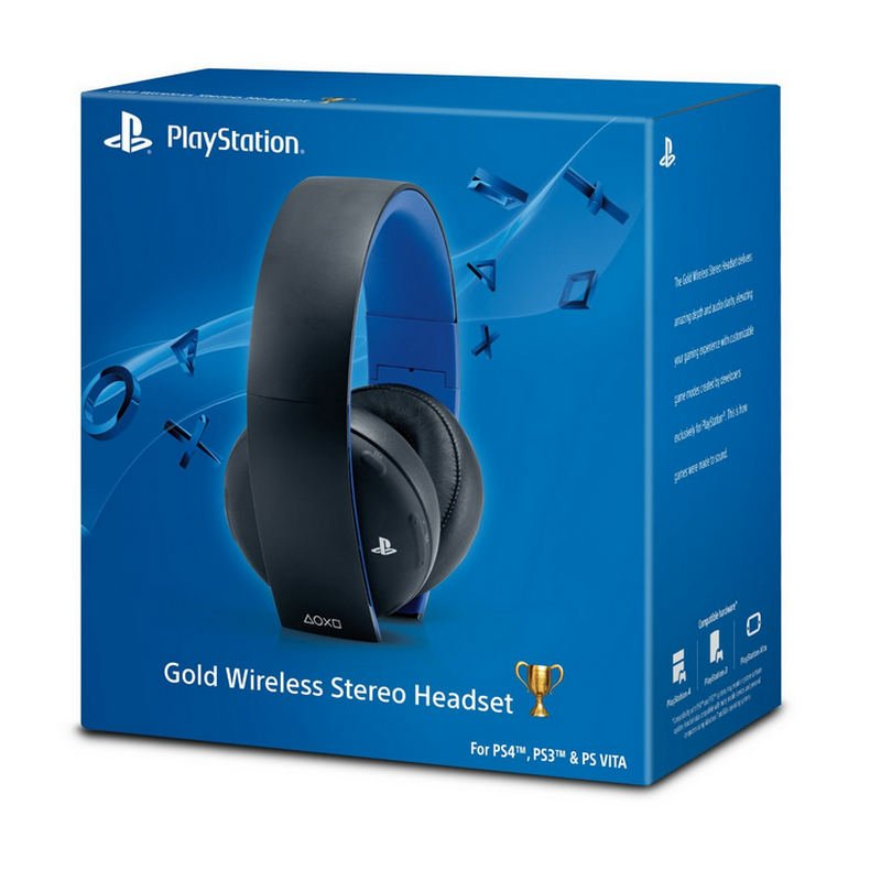 Sony Wireless Stereo Headset Ps4 Ps3 Pc