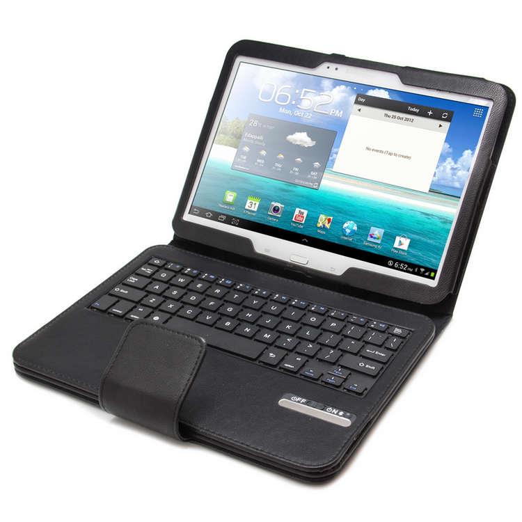 Funda con teclado para samsung galaxy tab 3 tab 4 10 pccomponentes - Fundas con teclado para tablet ...