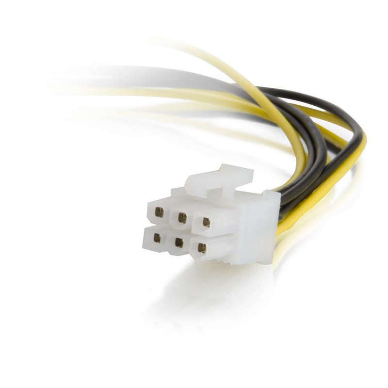 Cable Molex 4 Pines A Conector Pci Express 6 Pines 25cm