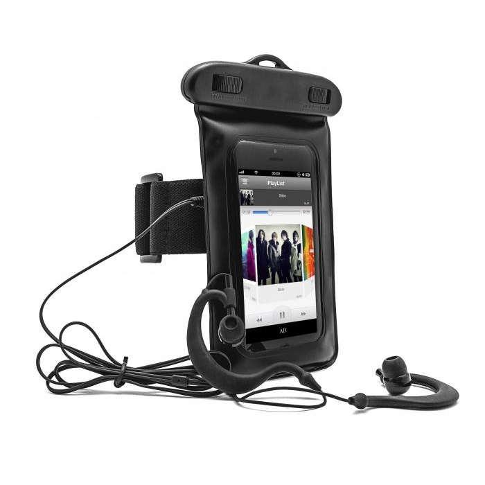 24950350675 Funda impermeable Smartphone Brazalete + Auriculares |PcComponentes