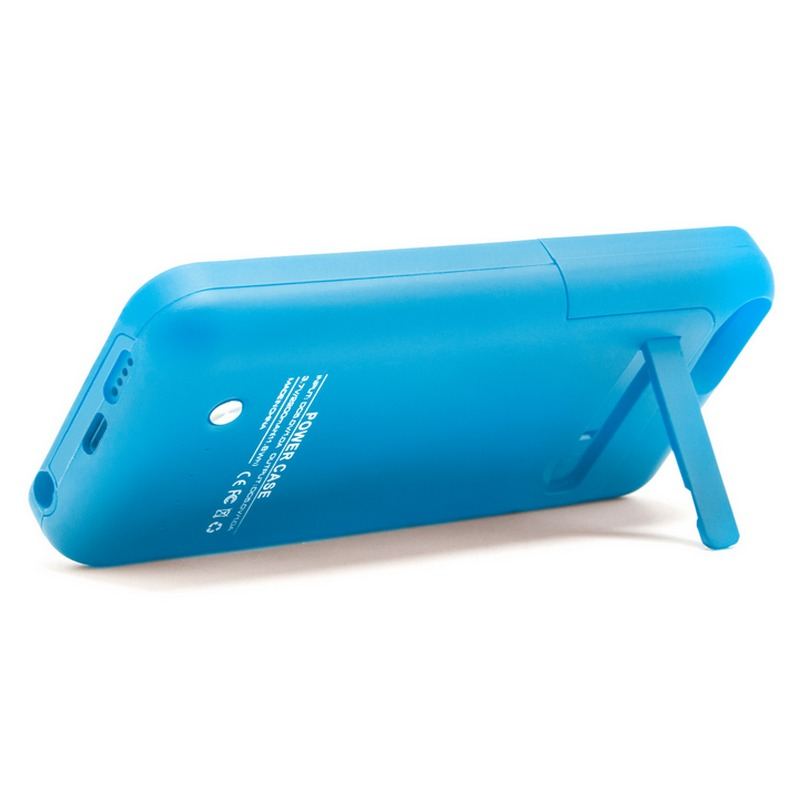 Funda bater a azul para iphone 5 5s 5c se pccomponentes - Funda bateria iphone 5c ...