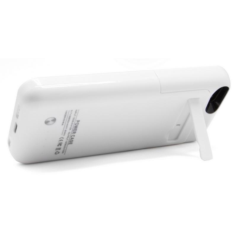 Funda bater a blanca para iphone 5 5s 5c se pccomponentes - Funda bateria iphone 5c ...