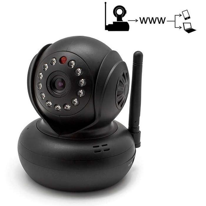 C mara de seguridad wifi visi n nocturna - Camara de seguridad ...