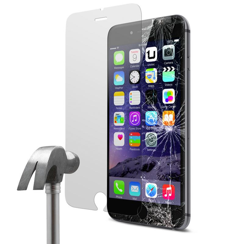 437c7653ea2 Protector Cristal Templado para iPhone 6