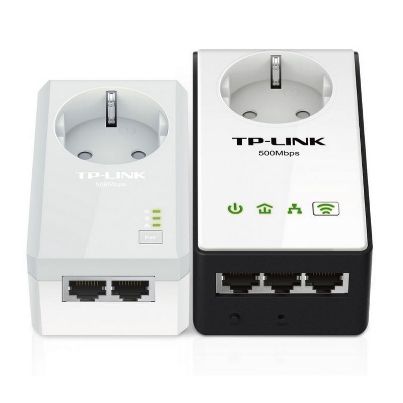Tp link tl wpa4230pkit av500 powerline passthrough wifi for Plc wifi precios