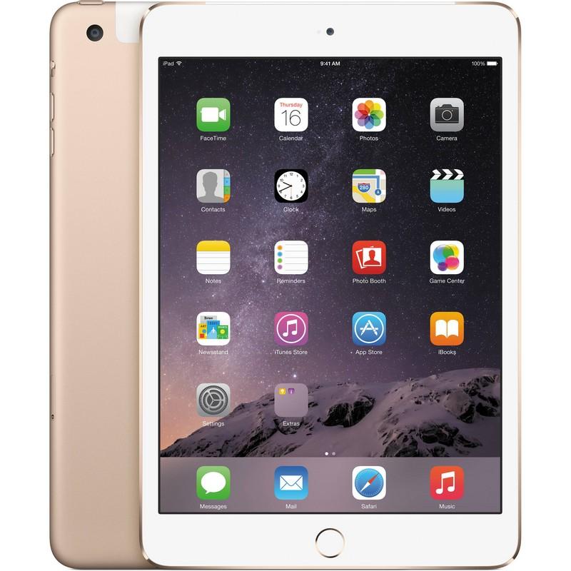 Apple iPad Mini 3 16GB 4G Oro |PcComponentes