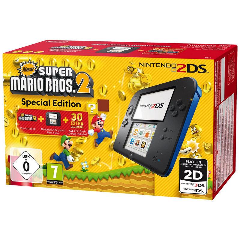 Nintendo 2DS Azul/Negra + New Super
