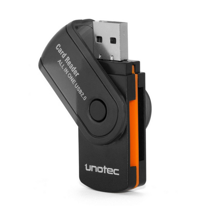 Unotec Lector USB de tarjetas SD/MicroSD