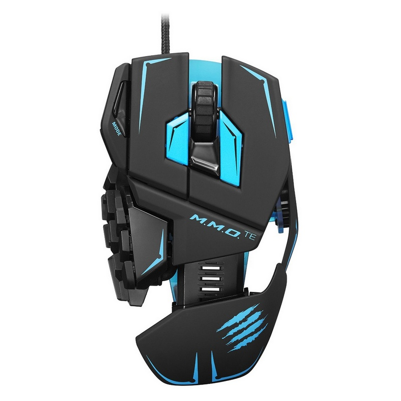 mad catz m m o tournament edition gaming mouse pccomponentes. Black Bedroom Furniture Sets. Home Design Ideas