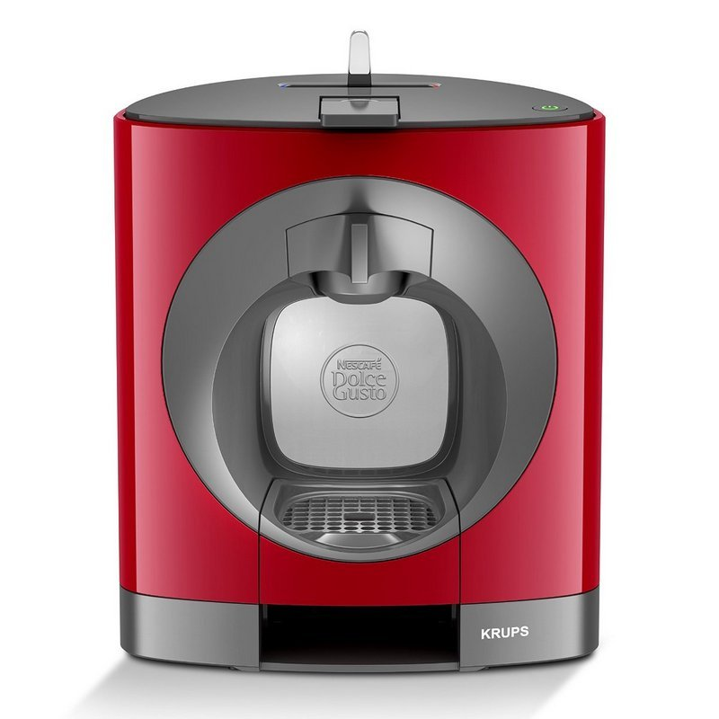 Krups Oblo Cafetera Dolce Gusto Roja