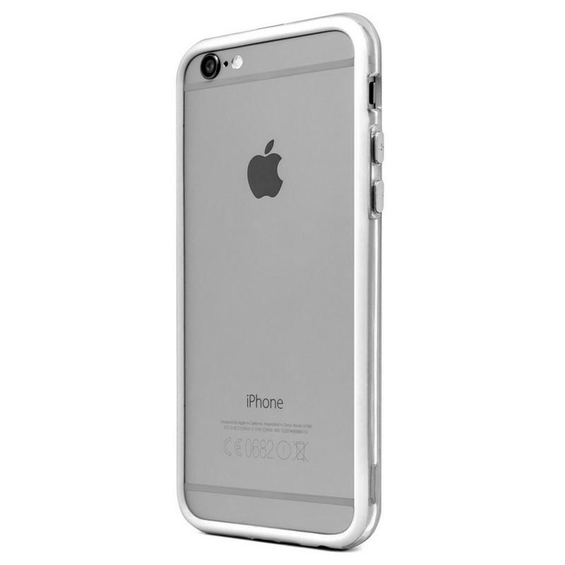 bumper dual blanco para iphone 6 pccomponentes. Black Bedroom Furniture Sets. Home Design Ideas