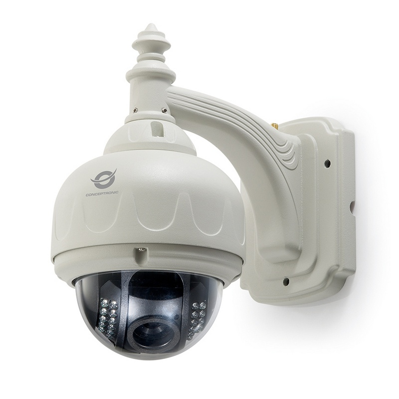 Conceptronic c mara de videovigilancia inal mbrica domo 720p - Camaras de videovigilancia ...