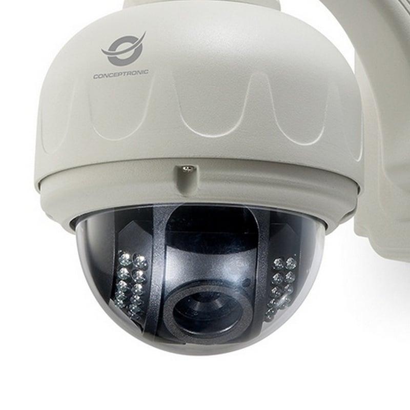 Conceptronic c mara de videovigilancia inal mbrica domo - Camaras de videovigilancia ...