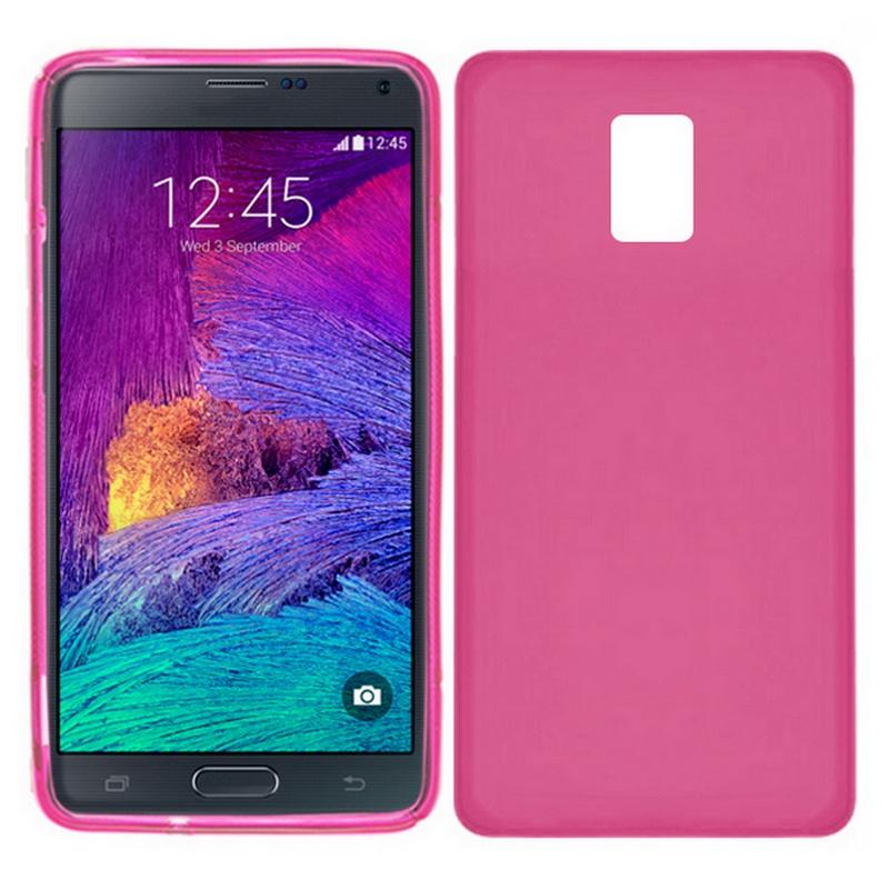02b1013ea25 Funda Silicona Rosa Samsung Galaxy Note 4 |PcComponentes