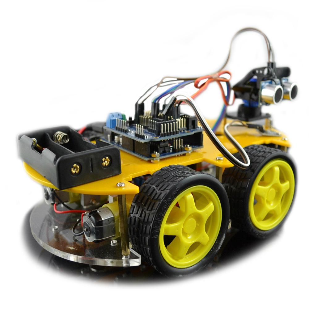 Kit coche bluetooth para arduino
