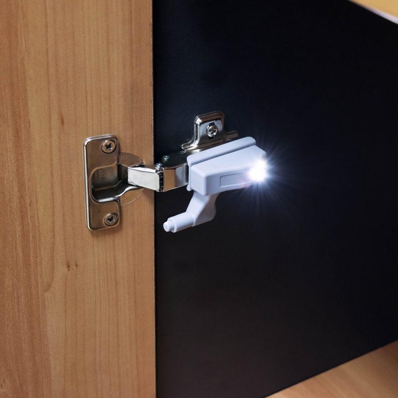 Luz led para bisagras de armario pccomponentes - Tipos de bisagras para puertas ...