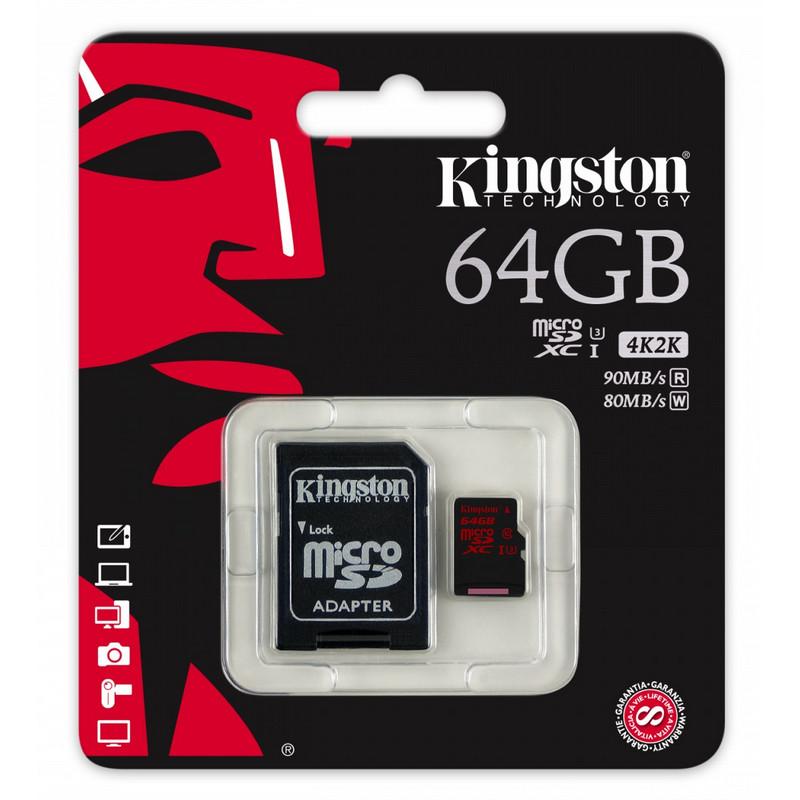 tarjeta de memoria 64gb clase 10