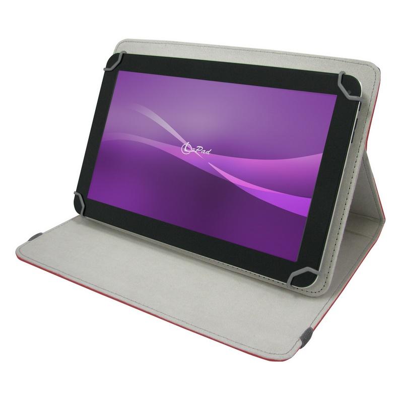 Leotec funda universal roja para tablet 10 1 pccomponentes - Funda universal tablet 10 1 ...