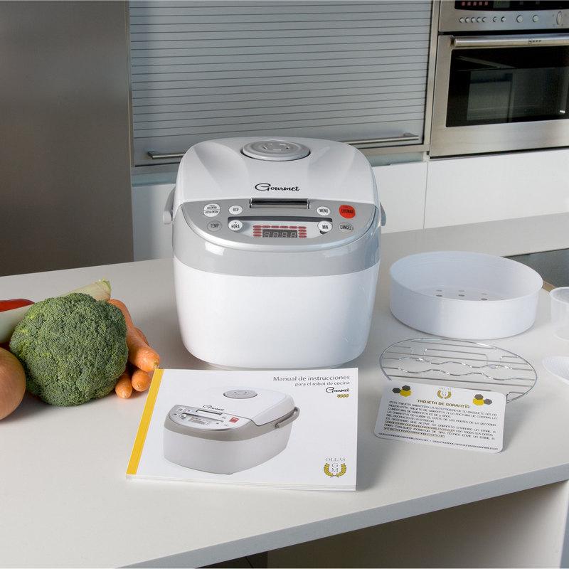 Cecotec gourmet 4000 robot de cocina pccomponentes - Robot de cocina gourmet ...