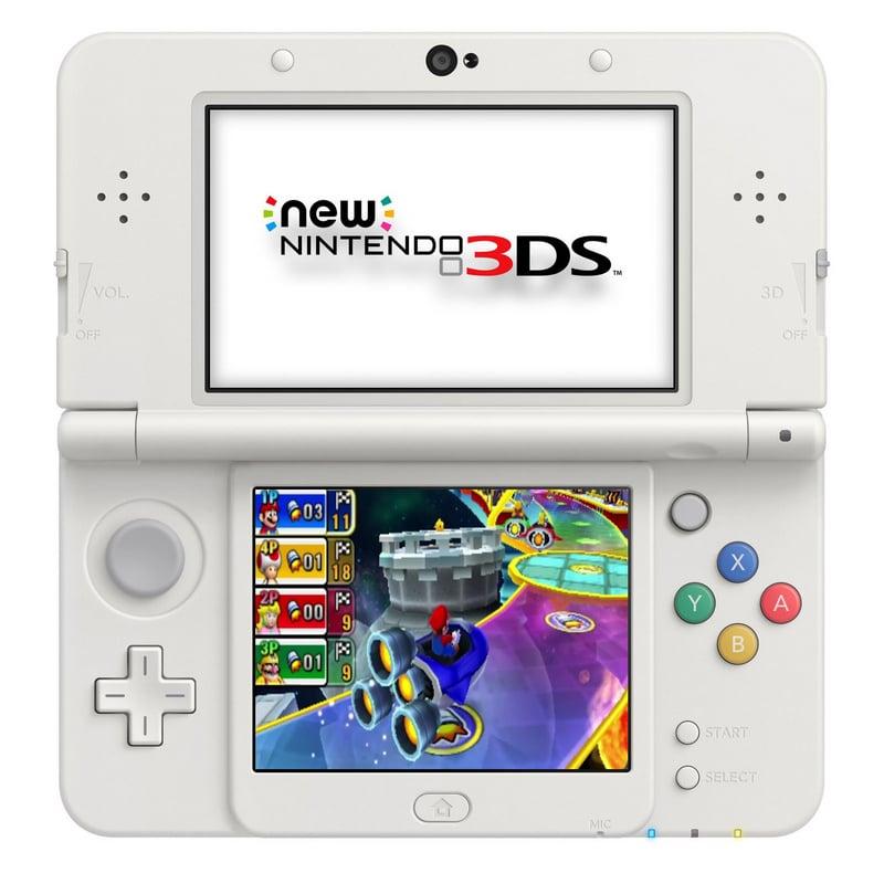 Nintendo 3ds New Nintendo Blanca