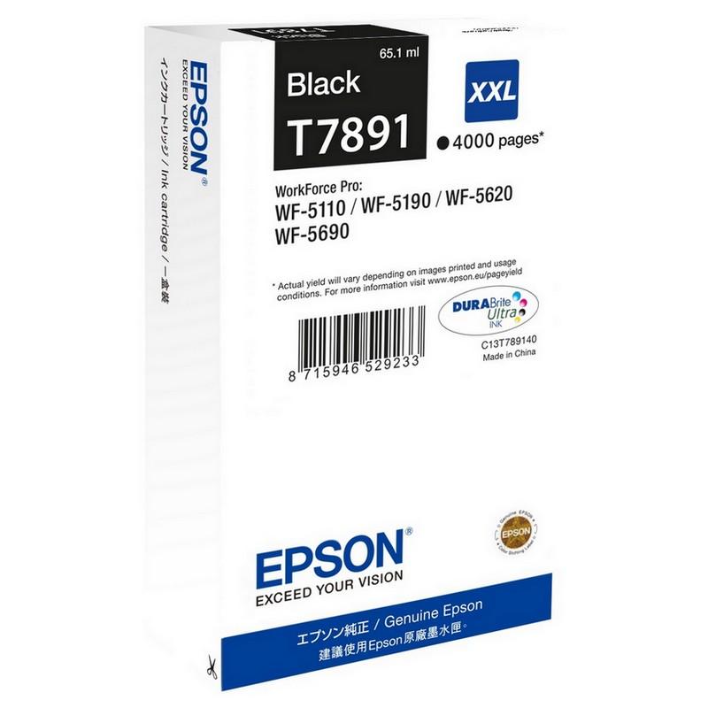 Epson T7891 XXL Negro WF-5110/5190/5620/5690