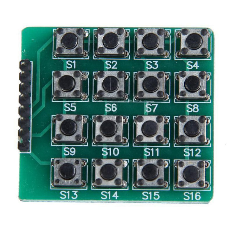 M 243 Dulo Matriz 4x4 Interruptores Compatible Con Arduino