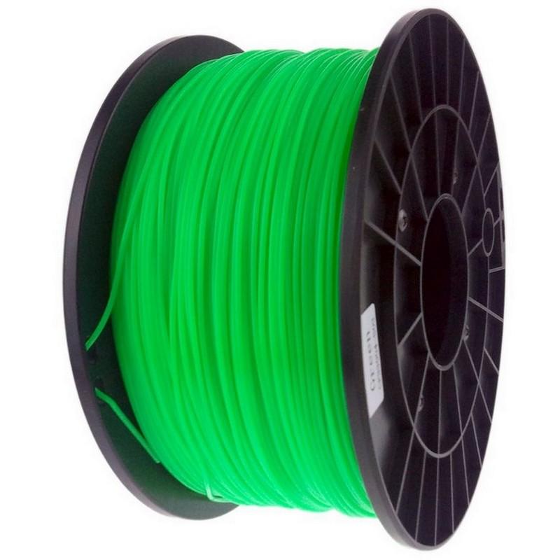Bobina De Filamento Pla 3mm Verde 1kg Pccomponentes