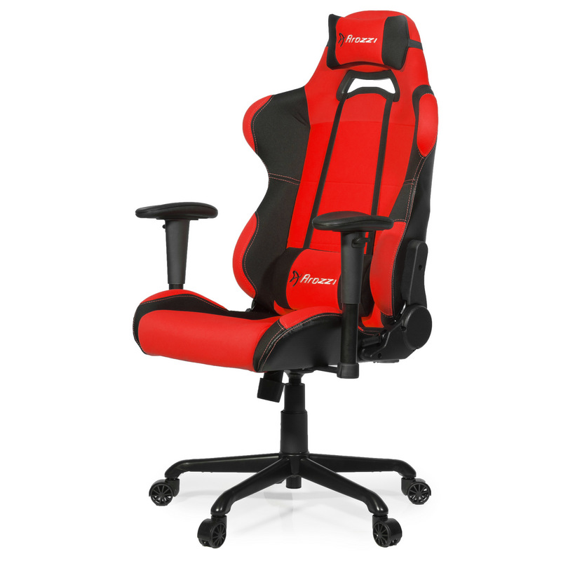Arozzi torretta silla gaming roja negra pccomponentes for Silla gamer razer