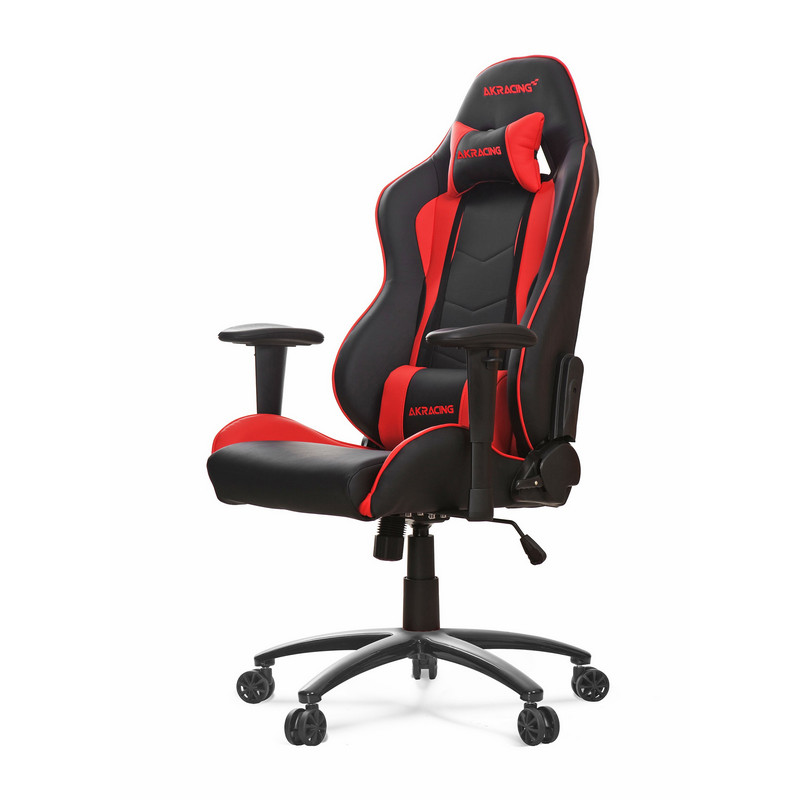 Akracing nitro silla gaming negra roja pccomponentes for Silla de oficina racing