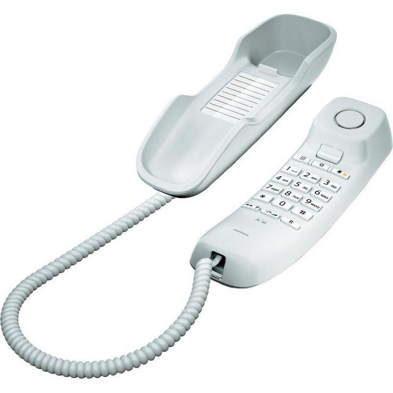 Gigaset DA210 Teléfono Fijo Compacto Blanco