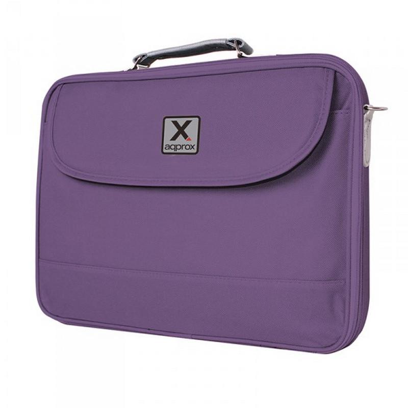 """Approx Notebook Bag Maletín para Portátil 17.3"""" Púrpura"""
