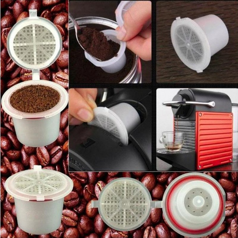 Emocup Pack 10 Cápsulas Recargables para Cafeteras Nespresso ...