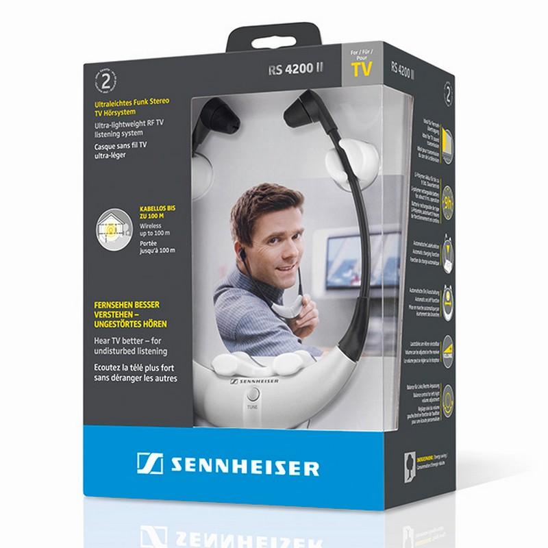 Sennheiser RS 4200 II Auriculares Inalámbricos + Emisor