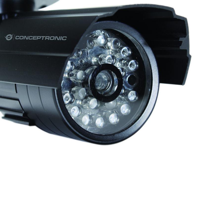 Conceptronic c mara dummy de videovigilancia exterior - Camaras de videovigilancia ...