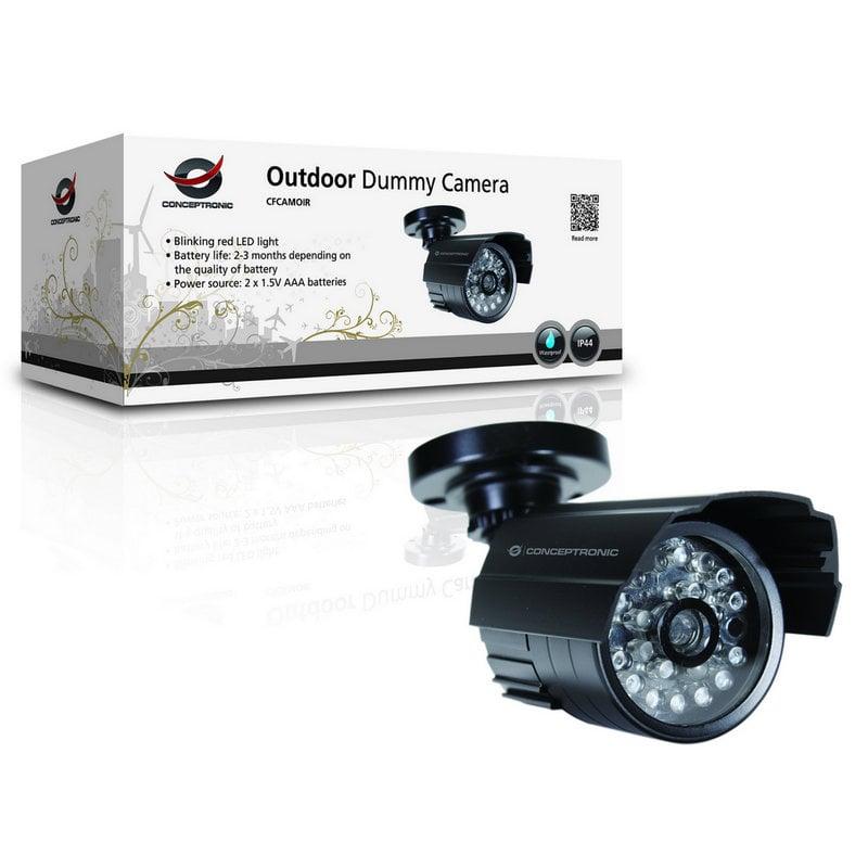 Conceptronic c mara dummy de videovigilancia exterior - Camaras videovigilancia exterior ...