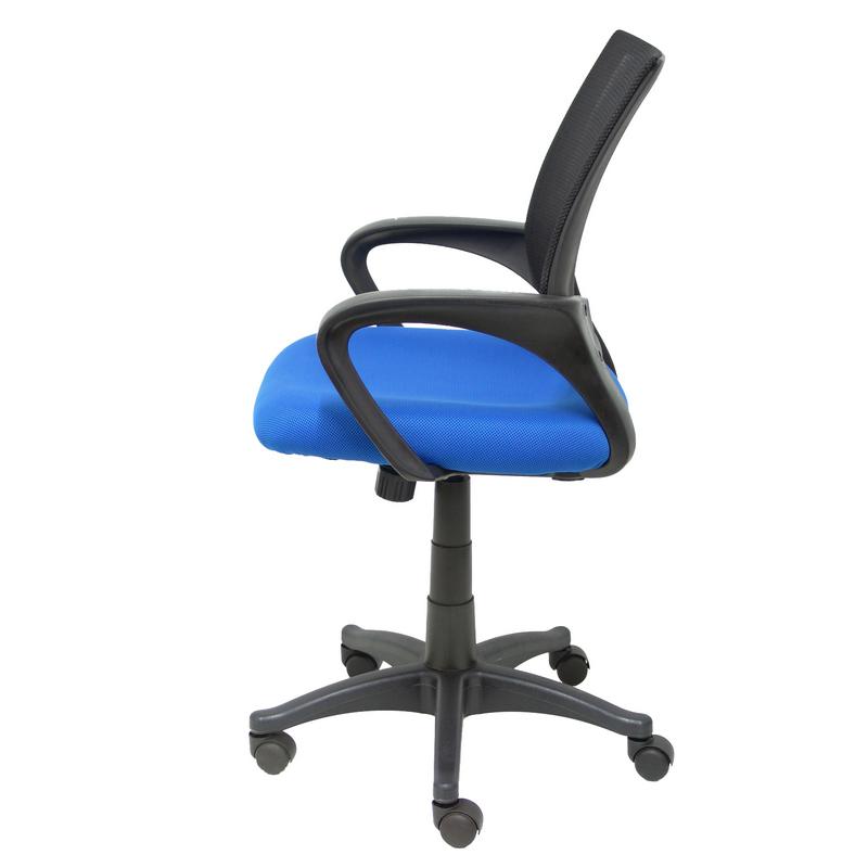 Silla oficina herzo azul pccomponentes for Oficina zona azul ibiza