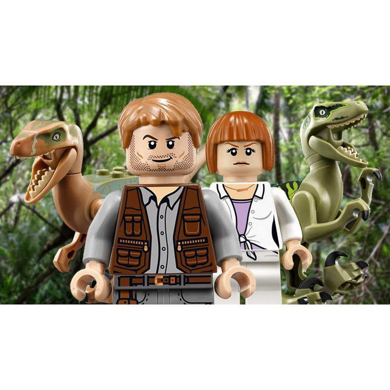 Lego Jurassic World 3ds Pccomponentes
