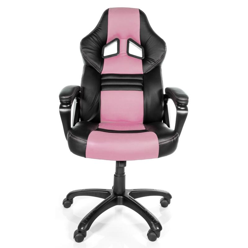 arozzi monza silla gaming rosa negra pccomponentes