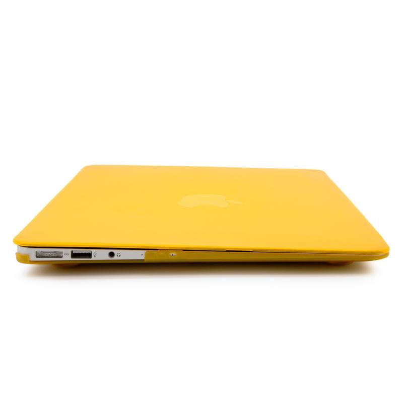 última selección Moda oficial de ventas calientes Carcasa Amarilla Para MacBook Air 13