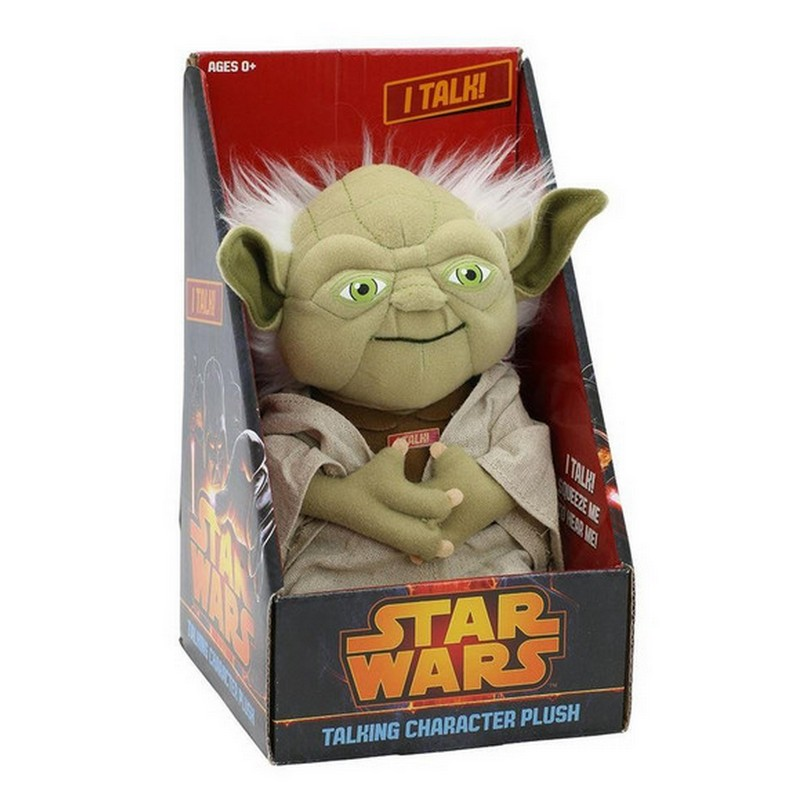 peluche star wars yoda 20cm con sonido pccomponentes. Black Bedroom Furniture Sets. Home Design Ideas