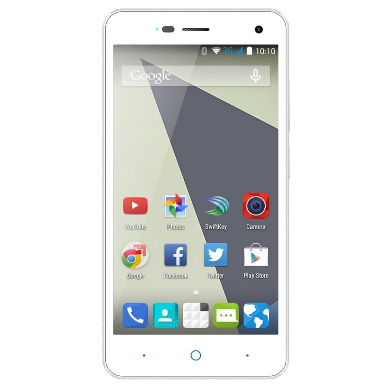 smartphone libre zte a452 blanco universele