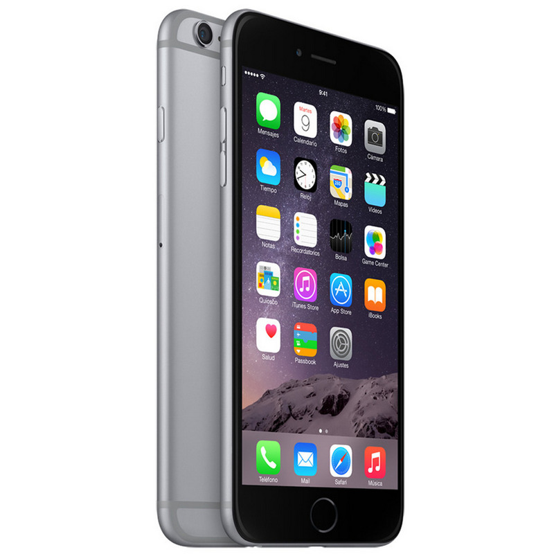 apple iphone 6 plus 64gb gris espacial libre pccomponentes. Black Bedroom Furniture Sets. Home Design Ideas