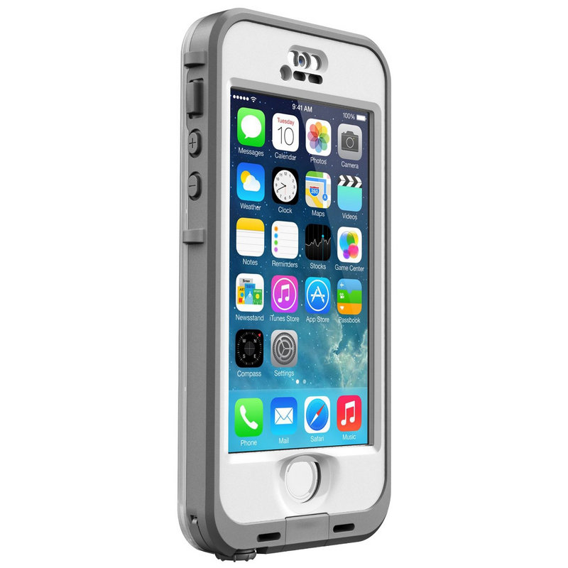 e712f8bfb39 LifeProof Nuud Carcasa Protectora para iPhone 5/5S Blanca |PcComponentes