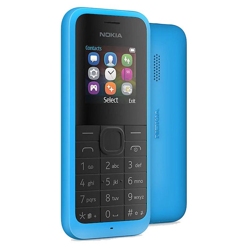 Nokia 105 Dual Azul Libre |PcComponentes