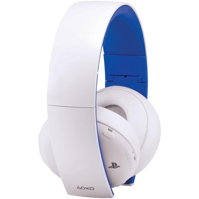 Sony Wireless Stereo Headset Blancos Ps4 Ps3 Pc