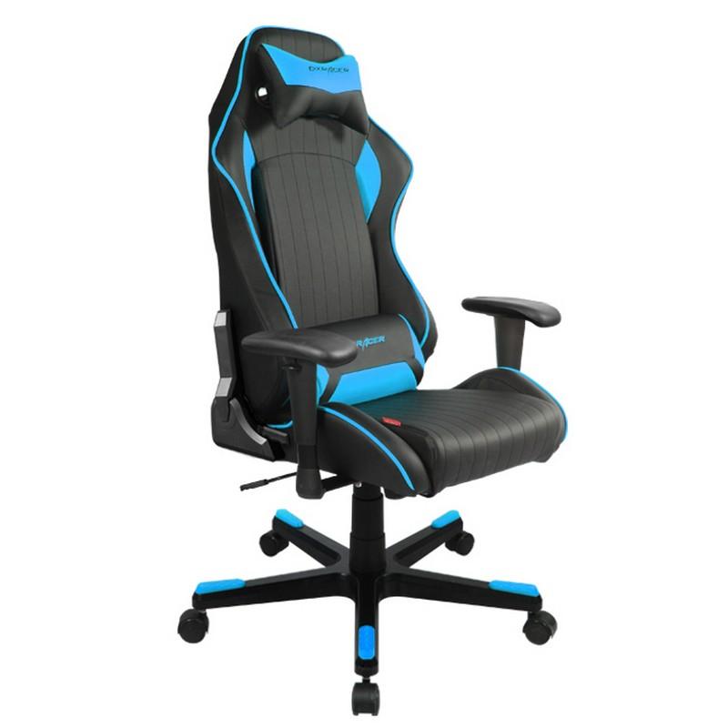 Dxracer d series oh df51 nb silla gaming negro azul for Silla gamer dxracer