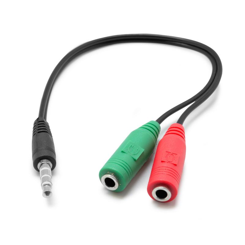 Adaptador Minijack A Auricular Y Micr 243 Fono Pccomponentes