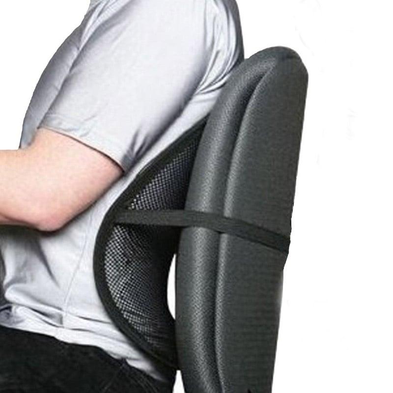 Respaldo lumbar ergon mico pccomponentes for Cojin lumbar silla oficina