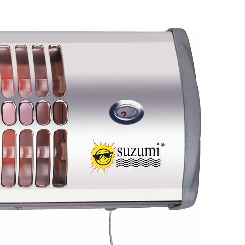 Suzumi ecb 1420 calefactor de ba o 1200w pccomponentes - Calefactor para bano ...