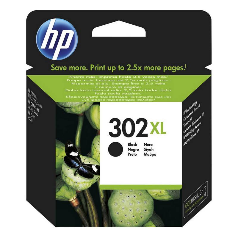 HP 302XL CArtucho Tinta Alta Capacidad Original Negro